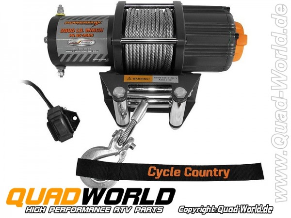 Seilwinde ATV Cycle Country Power Max 3500 1550Kg