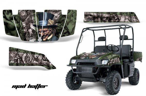 Grafik Kit Dekor MadHatter Polaris Ranger 500/700 XP 05-08 UTV Graphic Kit