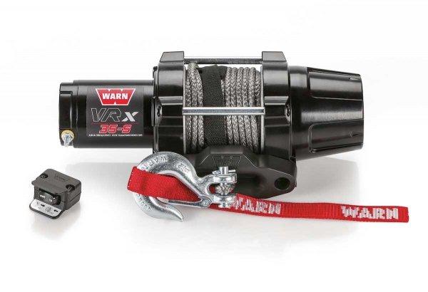 WARN VRX 35-S Seilwinde 1588 KG ZUGKRAFT15.2m SYNTHETIK SEIL