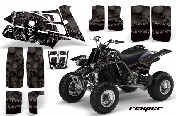 Grafik Kit Dekor Reaper Yamaha 350 Banshee Quad ATV Graphic Kit