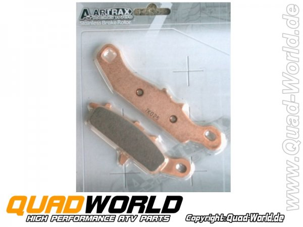 ARTRAX Bremsbeläge vorne links für Kawasaki + Suzuki siehe Liste
