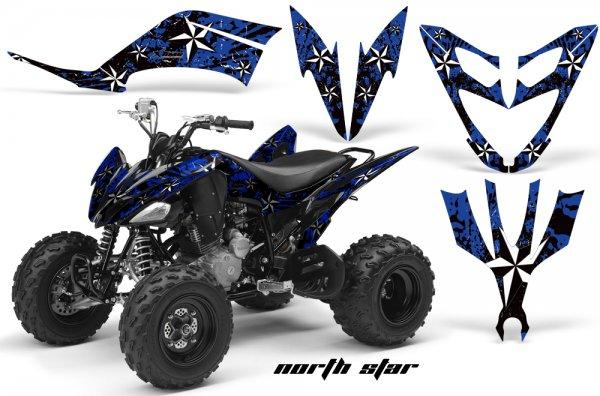 Grafik Kit Dekor NorthStar Yamaha YFM 250 R Quad ATV Graphic Kit