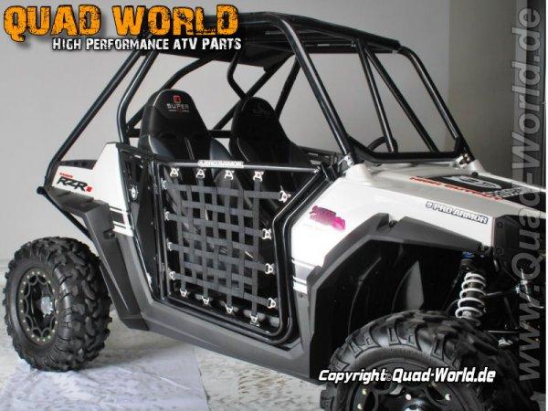 Pro Armor ProArmor Metalltür Satz schwarz Polaris RZR 800 2008-