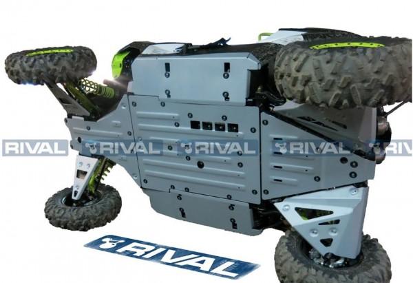 RIVAL Unterfahrschutz Komplett-Kitt für CanAm Maverick 1000X 15-17