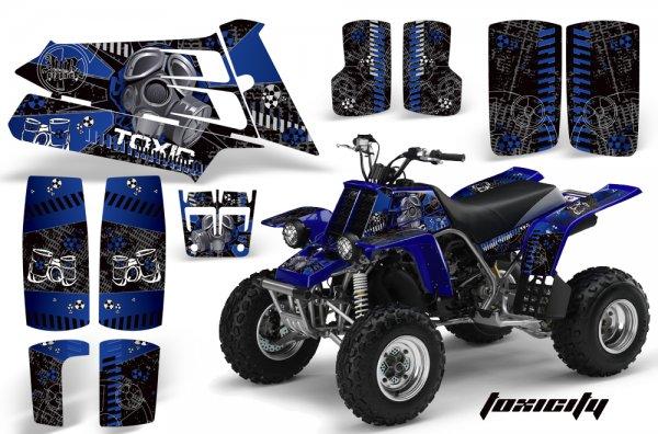 Grafik Kit Dekor Toxicity Yamaha 350 Banshee Quad ATV Graphic Kit