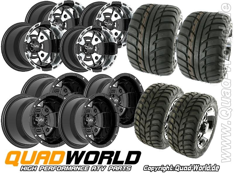 quad-Komplettaeder-Radsatz-Yamaha-YFM-700R-660R-350R-YFZ-450-Warrior-350-VBW-Sport-Felgen