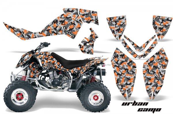 Grafik Kit Dekor Urban Camo Polaris Outlaw 450/500/525 06-08 Quad ATV Graphic Kit