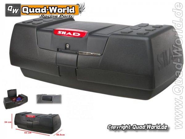 SHAD Heck Box Koffer ATV110 Top-Case ATV Quad Kofferbox XXL
