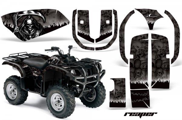 Grafik Kit Dekor Reaper Yamaha 660 Grizzly Quad ATV Graphic Kit