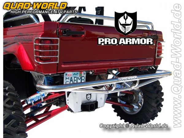 Pro Armor REAR BUMPER POLISHED STAINLESS STEEL für Yamaha Rhino für Yamaha Rhino