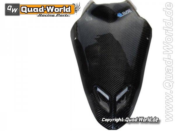 Quad Sport Front Maske Racing Hood Carbon Look für Suzuki LTR 450