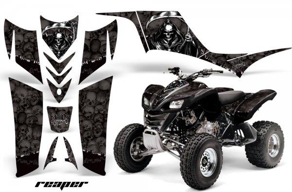 Grafik Kit Dekor Reaper Kawasaki KFX 700 Quad ATV Graphic Kit