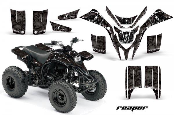 Grafik Kit Dekor Reaper Yamaha YFS 200 Blaster Quad ATV Graphic Kit