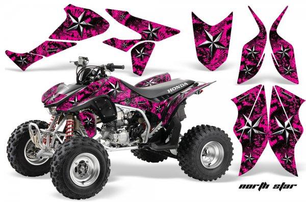 Grafik Kit Dekor North Star Honda TRX 450R 04-11 Quad ATV Graphic Kit