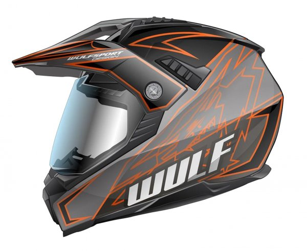 Prima-X Cross Helm Orange Motorrad Quad ATV Bike Enduro MX BMX Supermoto