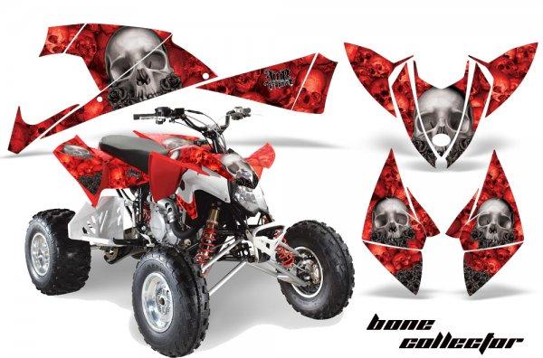 Grafik Kit Dekor Bone Collector Polaris Outlaw 450/500/525 09-11 Quad ATV Graphic Kit