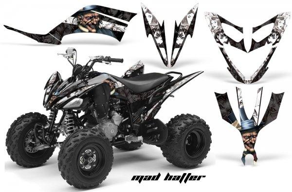 Grafik Kit Dekor MadHatter Yamaha YFM 250 R Quad ATV Graphic Kit