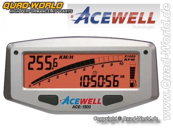 Acewell Digital Tacho Silber ACE-1500A