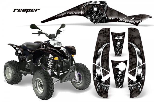 Grafik Kit Dekor Reaper Polaris Scrambler,Trailblazer 200/400/500 Quad ATV Graphic Kit