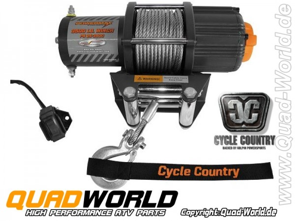Seilwinde ATV Cycle Country Power Max 4500 2000kg