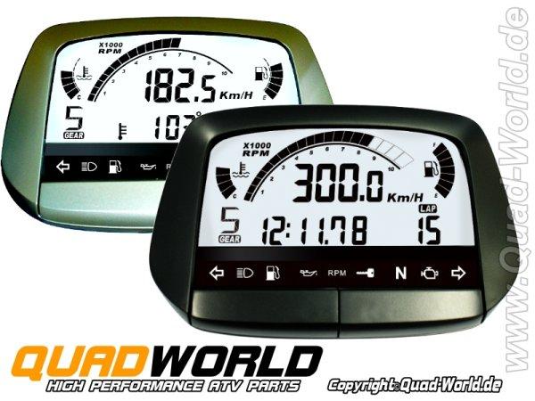 Acewell ACE-5854 Digital Tacho Schwarz oder Silber