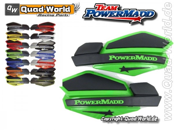 Handschalen Quad PowerMadd ver.Farben