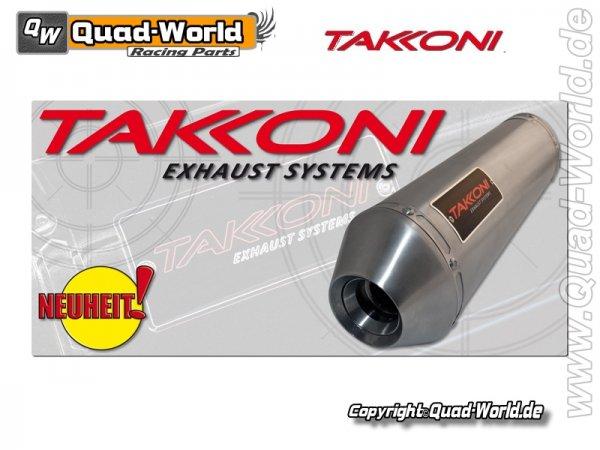 Takkoni Komplettsystem mit Krümmer KYMCO MXU 250 E-geprüft