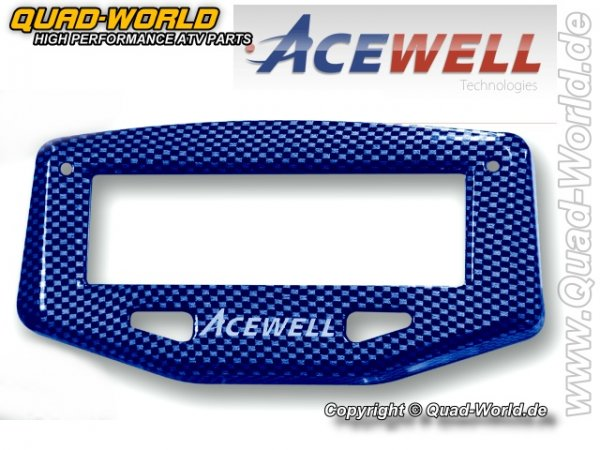 Acewell Cover Carbon Blau für ACE Serie 1***