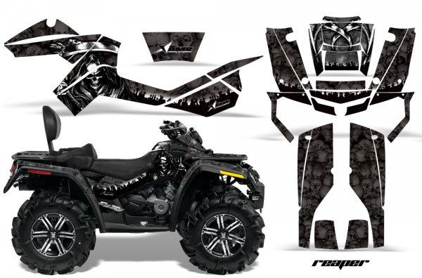 Grafik Kit Dekor Reaper Can Am Outlander MAX 400/500/650/800 Quad ATV Graphic Kit