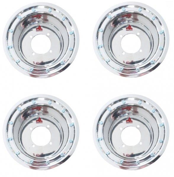 Silver Dream II BeadLock Felgen Adly Beeline Online 6x10 4x110 + 10x10 4x110 Teilegutachten