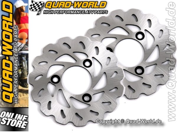 QUAD-WORLD RACING Bremsscheibe Yamaha YFZ 450 vorne