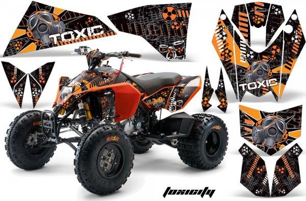 Grafik Kit Dekor Toxicity KTM 450/505/525 Quad ATV Graphic Kit