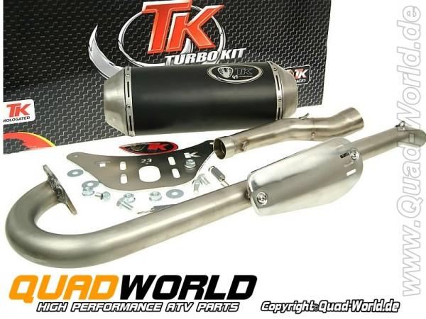 TurboKit Quad Auspuffanlage für Kymco KXR 250 E-geprüft