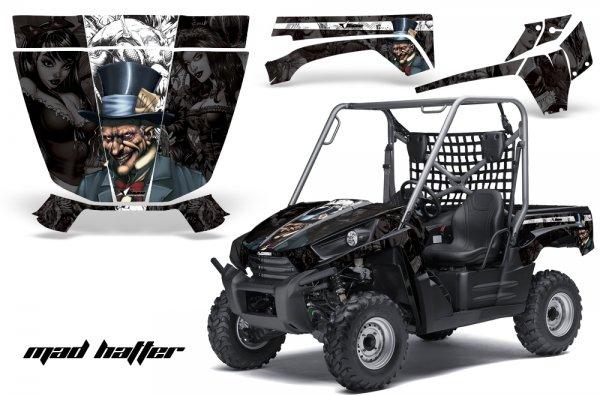 Grafik Kit Dekor MadHatter Kawasaki Teryx 750 10-11 UTV Graphic Kit