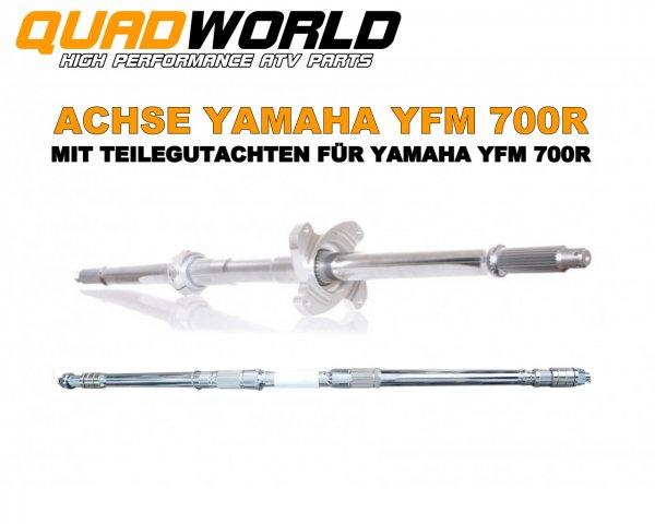 Yamaha 700R Hinterachse mit TÜV Gutachten