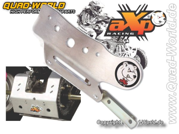 AXP Auffahrschutz Kettenschutz hinten Kymco MXR 300 Alu