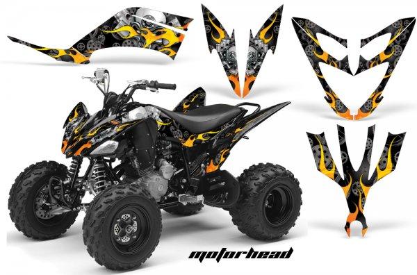 Grafik Kit Dekor Motorhead Yamaha YFM 250 R Quad ATV Graphic Kit