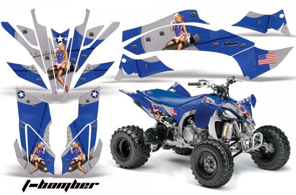 Grafik Kit Dekor T-Bomber Yamaha YFZ 450 09-10 Quad ATV Graphic Kit