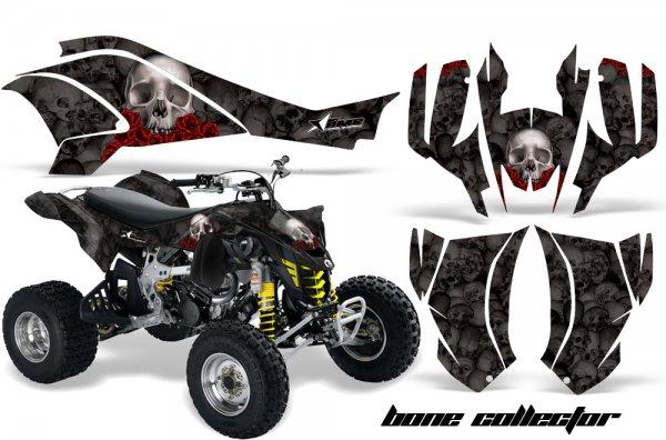 Grafik Kit Dekor Bone Collector Can Am DS450 Quad ATV Graphic Kit