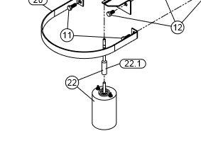 Ersatzmotor für Fimco Salstreuer
