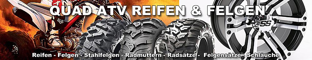 Quad Reifen ATV Reifen Felgen Stahlfelgen Radsatz