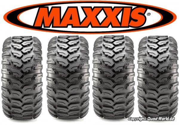Mischreifen Maxxis Ceros für Kymco Maxxer 450i mit Teilegutachten für 25 Zoll Reifen